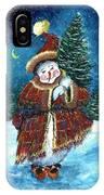 Santas Helper IPhone Case