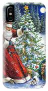 Santa's Little Helpers IPhone Case