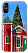 Santas Workshop IPhone Case