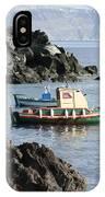 Santorini Boats IPhone Case
