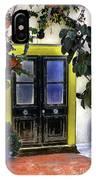 Santorini Doorway 2 IPhone Case