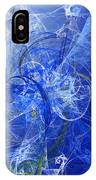 Sapphire In Blue Lace IPhone Case