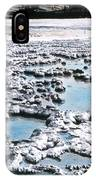 Sapphire Pool Yellowstone National Park IPhone Case