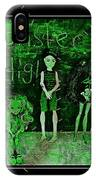 Sarah's Monster High Collection Frankenstein Effect IPhone Case