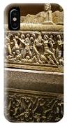 Sarcophoghus Reflected In Antalya Archeological Museum-turkey  IPhone Case