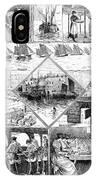 Sardine Fishery, 1880 IPhone Case