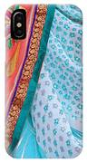 Saree In The Market IPhone Case