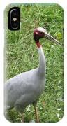 Sarus Crane IPhone Case