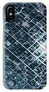 Satellite View Of Fields In Sonora IPhone Case