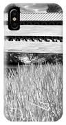 Saucks Bridge And Reeds IPhone Case
