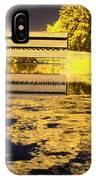 Saucks Bridge - Pond IPhone Case