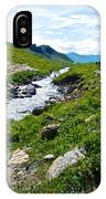 Savage River From Savage River Trail In Denali Np-ak    IPhone Case