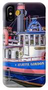 Savannah Belle Dot Ferry IPhone Case