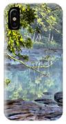 Savannah River In Spring IPhone Case