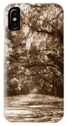 Savannah Sepia - The Old South IPhone Case