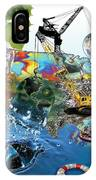 Save The World Recycle IPhone Case