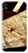Saw Tracks On The Santa Maria IPhone Case