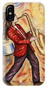 Sax Man IPhone Case