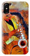 Saxplayer 88 IPhone Case