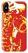 Saxy Red Poster IPhone Case