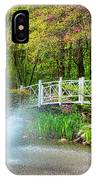 Sayen Garden Impression IPhone Case