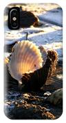 Half Shell On Ice IPhone Case