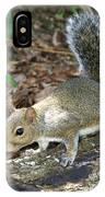 Scampering Squirrel IPhone Case