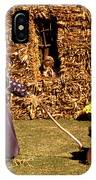 Scarecrows Play Too IPhone Case