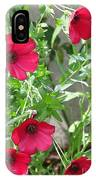 Scarlet Flax IPhone Case