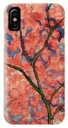 Scarlet Flowers IPhone Case