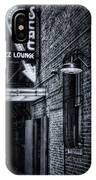 Scat Lounge In Cool Black And White IPhone X Case