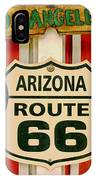 Scenes On Route 66 IPhone Case