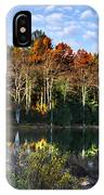 Scenic Autumn At Oakley's IPhone Case