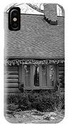 Scenic Cabin IPhone Case