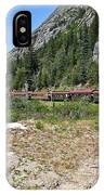 Scenic Railroad IPhone Case