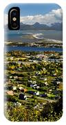 Scenic View Overlooking The Town Of IPhone Case