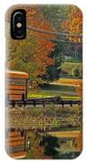 School Days Of Autumn IPhone Case