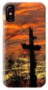 School Totem Pole Sunrise IPhone Case