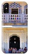 Schoolchildren At The Women's Palace - Jaipur India IPhone Case