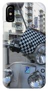 Scooter In The Spotlight IPhone Case