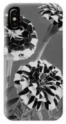 Scotch-stripe Marigolds IPhone X Case