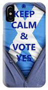 Scottish Businessman Votes Yes IPhone Case