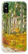 Scottish Forest In Spring IPhone Case