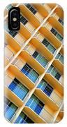 Scratchy Hotel Facade IPhone Case