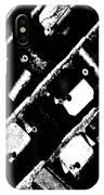 Screwed Metal Tab Abstract IPhone Case