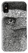 Scribble Eagle IPhone Case