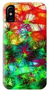 Scribble Thicket IPhone Case