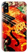 Scribbled Fiddle IPhone Case