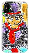 Scrooge And Scotties IPhone Case