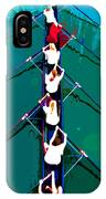 Rowing In The Sun IPhone Case
